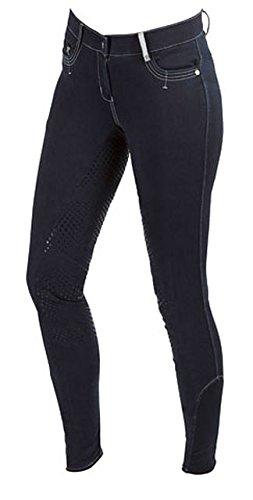 Kerbl Basicplus Pantalon d'équitation pour Enfant Bleu 13-14 Ans Bleu
