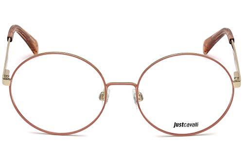 Just Cavalli JC0849 Monturas de gafas, Rosa, 54.0 Unisex Adulto