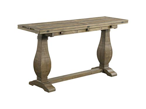 Martin Svensson Home Napa, Flip Top Sofa Console Table, Reclaimed Natural