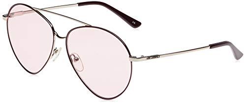 Karl Lagerfeld KL275S - Gafas de Sol de Metal, Unisex, para Adulto, Multicolor, estándar