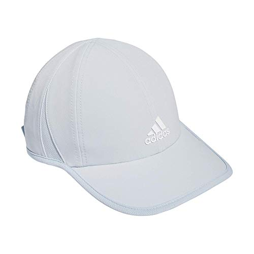 adidas Women's Superlite Cap, Halo Blue/White, One Size