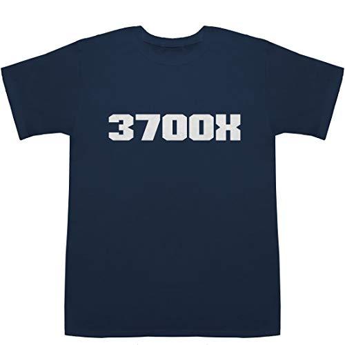 3700X T-shirts ネイビー M【3700x ipc】【3700x vs i9 9900k】