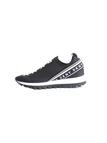 DKNY Damen Sneaker, Schwarzer Abbi, 36.5 EU