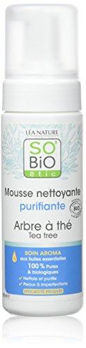 So'Bio étic Mousse Nettoyante Purifiante Arbre a Thé 150 ml