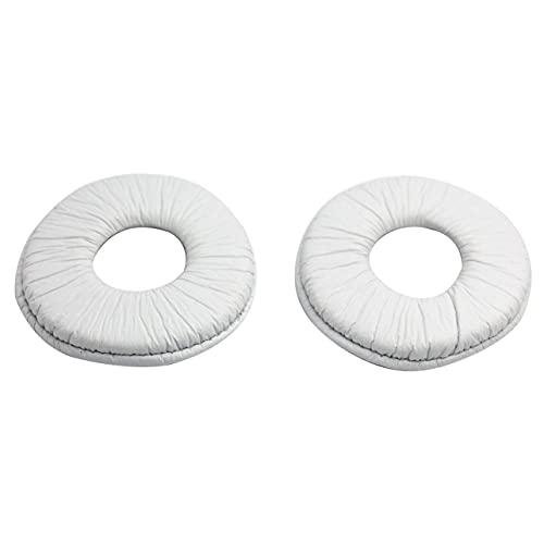 Cuffie Copri-spugna Cuscinetti di ricambio per auricolari Cuscinetti per auricolari da 70 mm Cuscinetti in schiuma Cuscinetti per cuffie per MDR-ZX100 - Bianco