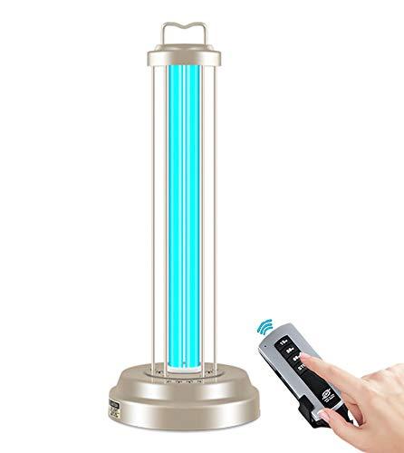 Xiaoxiao Sterilisationslampe Luft-Sterilisator-Lampe - UV-Sterilisator-Licht, Fernbedienung UV-Licht keimtötendes Licht Luftsterilisator-Reiniger , Tötet 99,9% der Schimmelpilzkeime-Viren ab Sterilisa