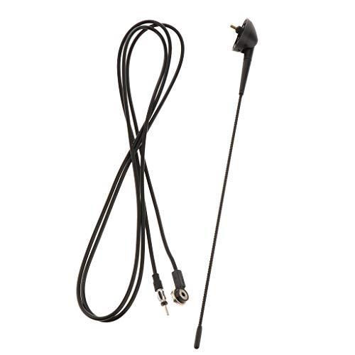 B Baosity Am/FM - Antena de Techo Universal con Cable para Fiat