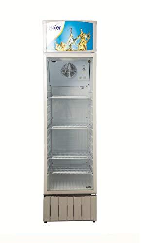 Haier HVC412GHC Single Door Visi Cooler, 412 Ltr, White