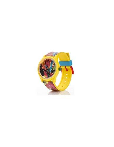 Q&Q SmileSolar Unisex Solar Uhr mit Plastik armband Analog Quarz RP00J025