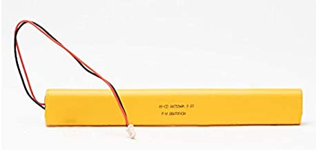 Emergency Light Lighting Fixture Battery Ni-Cd 9.6v 700mAh/900mAh BBAT0043A