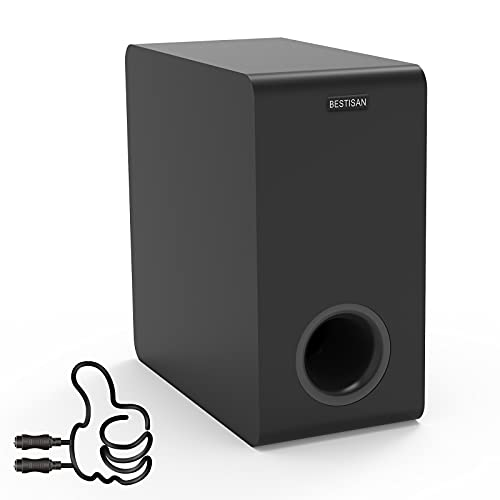 Powered Subwoofer, Bestisan 6.5&quo…