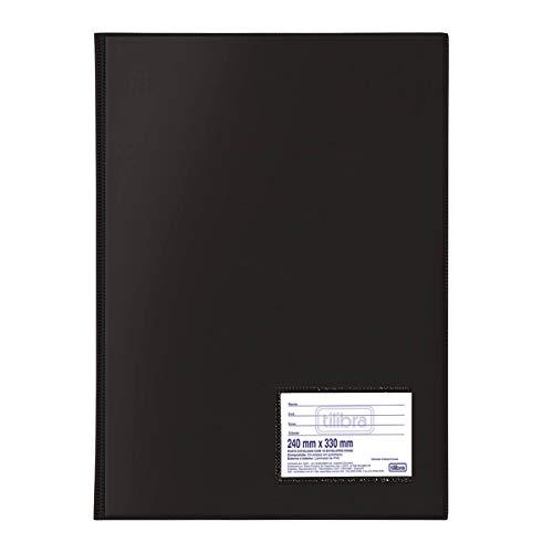Pasta Catalogo 50 Envelopes, Tilibra, Preto