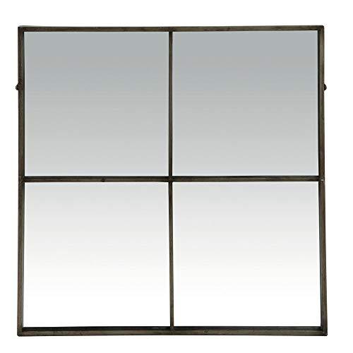 Pomax Miroir Industriel carré 4 Sections