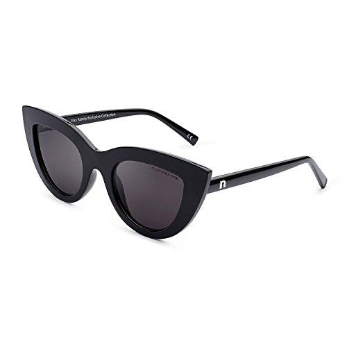 CLANDESTINE Gatto Black by Elsa Pataky - Gafas de sol Polarizadas Hombre & Mujer
