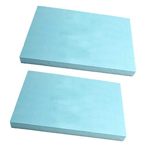 Fenteer 5er-Set Schaumstoff Platte Schaumstoffpolster Schaumplatte für Modellbau/Basteln