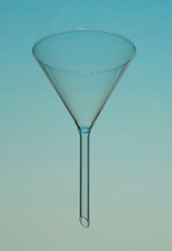 Douchebak 068957 trechter van borosilicaatglas, hoek 60° 8 ml, 10 stuks