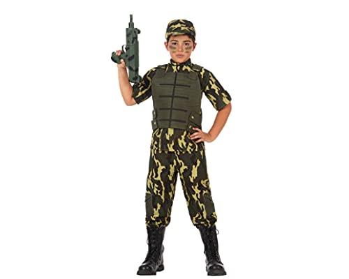ATOSA disfraz militar nio infantil camuflaje 5 a 6 aos
