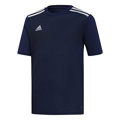 adidas Campeon 19 Jersey, Maglia Unisex Bambini, Dark Blue/White, 140