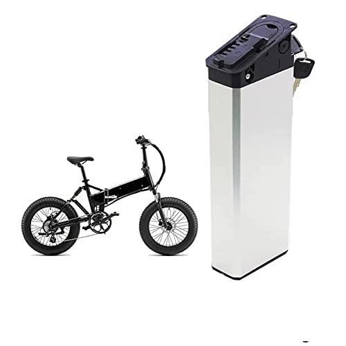 YBSY Batteria Sostitutiva per Bicicletta elettrica 48V / 52V, batterie ebike Pieghevoli con Inserto da 750W con Caricatore da 58.8V 2A,48V 15Ah