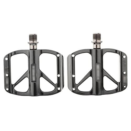 QYK -Pedales MTB de aleación de Aluminio,Pedal de Ciclismo de Plataforma Ancha de Aluminio Ligero,Pedales Planos de montaña rodamiento Sellado,Pedales de Bicicleta de Carretera,C