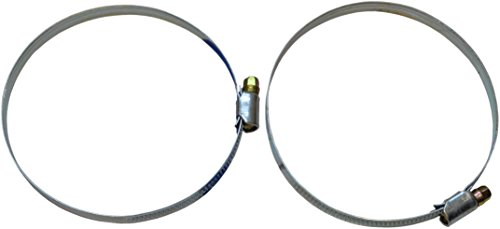 sanicomfort fascetta stringitubo 12mm, estensibili 60–80mm, 2pezzi, 1882937
