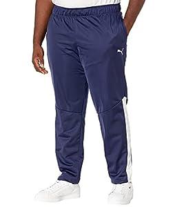 PUMA Men's Big & Tall Contrast Pants, Peacoat White, 3X-Large