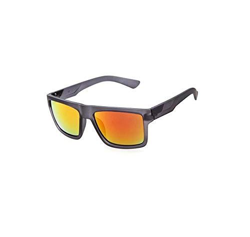 JIDAN Klassische Sonnenbrille Männer Frauen Fahren Square Frame Sonnenbrille Männliche Brille Sport UV400 Gafas Brillen Zubehör-C7