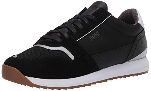 Hugo Boss Herren Sonic Runn Fully Lined Sneaker Turnschuh, New Black, 40 EU