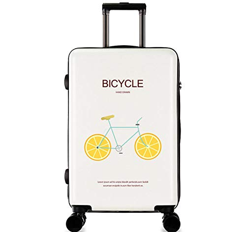 Ligero 4 Ruedas Abs Hard Shell Travel Trolley por Mukmok Maleta Lugagge, 18