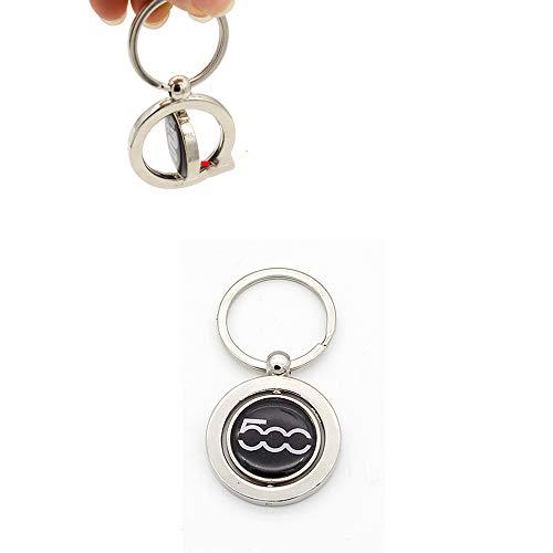 WULIM Auto sleutelhanger voor BMW Alfa Romeo Fiat Mitsubishi logo metalen sleutelhanger badge sleutelhanger embleem sleutelhanger