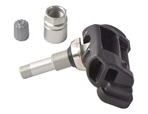 Sensor de presión de neumáticos 13598775 433MHz neumático de TPMS sensor de presión for Opel Astra P3400 insignias Chevrolet Volt 13581560 Durable y seguro (Color : Black)