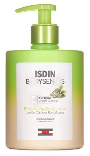 ISDIN BodySenses Loción Corporal, Gama Revitalizante con Te Matcha, Hidrata tu piel de sensaciones - 500ml