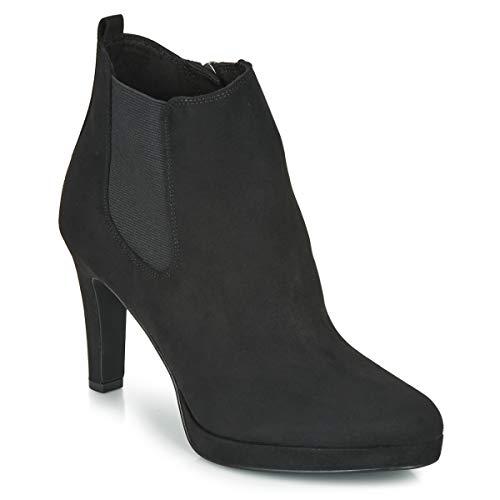 Tamaris Damen Stiefeletten Schwarz, Schuhgröße:EUR 38