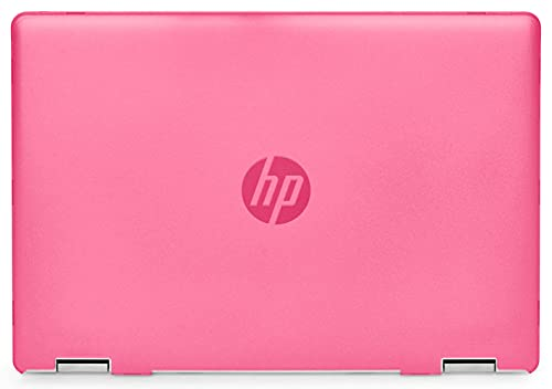 mCover Hard Shell Case Compatible with 2020 14' HP Pavilion x360 14-DHxxxx Series ( NOT Compatible with Other HP Pavilion Series ) Convertible laptops (HP Pav-x360-14-DH Pink)