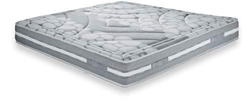 Secilflex 'Stilla Re Materasso Memory Foam, Traspirante, Top sfoderabile (90x200 cm)