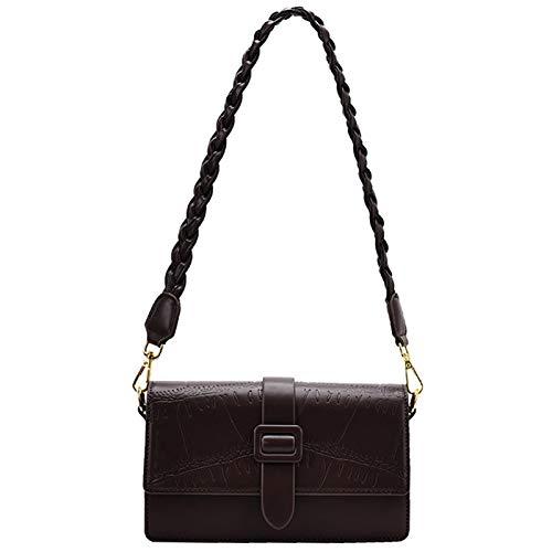 wowcross Elegante bolso de mano para mujer, bolso de mano, boda, bolso de noche, bolso de mano