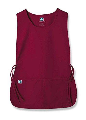 Adar Uniforms Adar Universal Tabard Apron - Unisex Apron - Burgundy - X-Large