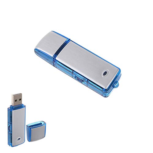 1neiSmartech Pen Drive Registratore Vocale Usb 8Gb Mini Audio Voice Recorder Flash Microspia Spy Cimice