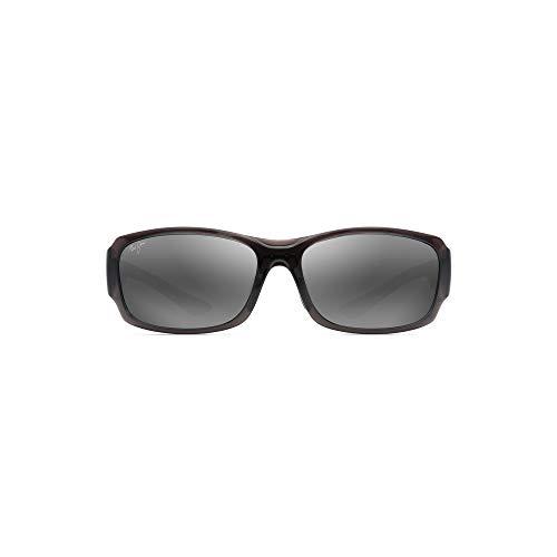 Maui Jim gafas de sol hombre | Monkeypod 441-11A | Montura color gris claro. Lentes polarizadas gris neutro