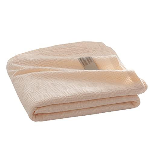 FPEH Manta térmica de algodón Manta Liviana Suave y Transp