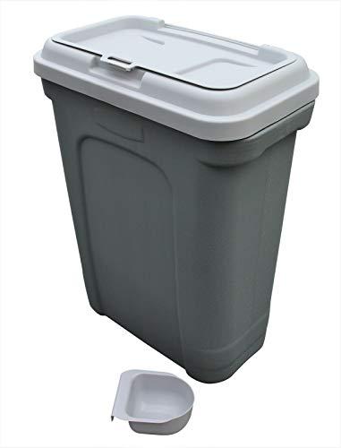HH Home Hut Pet Food Storage Container 32L Dog Cat Animal Bin 16 KG Dry...
