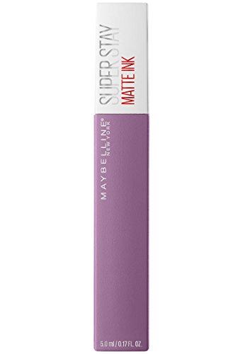 Maybelline New York Super Stay Matte Ink Lippenstift Nr. 100 Philosoph, flüssiger Lippenstift,...