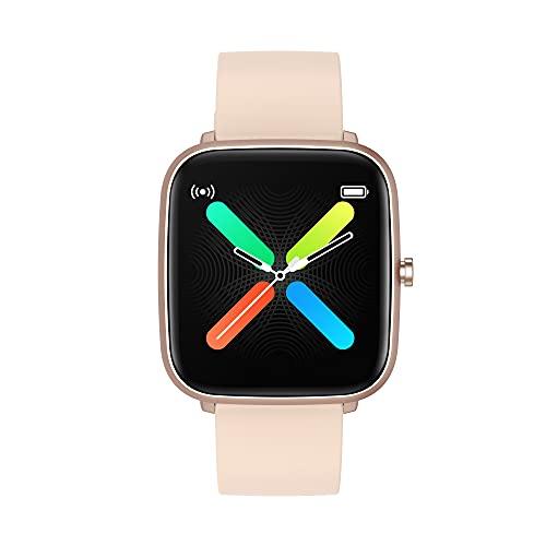 Smartwatch per uomo e Donna, per iPhone e telefoni Android, compatibile con iPhone e Samsung, cardiofrequenzimetro al polso, impermeabile IP68, monitoraggio del sonno, contapassi, fitness watch