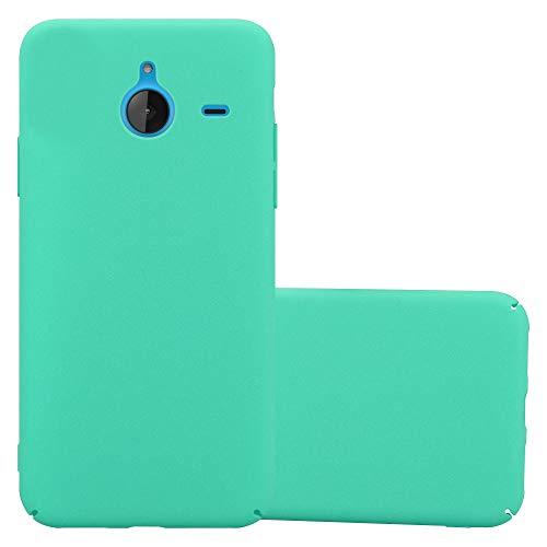 Cadorabo Custodia per Nokia Lumia 640 XL in Frosty Verde - Rigida Cover Protettiva Sottile con Bordo Protezione - Back Hard Case Ultra Slim Bumper Antiurto Guscio Plastica