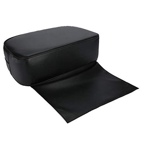 Cojín de PU negro Barber Boost para silla de peluquería Cojín de asiento elevador de salón, Cojín de peluquero, para niños Silla de peluquería Cojín de peluquería
