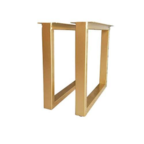 2er Set Möbelbeine DIY Tischbeine Hochleistungs-Metall-Schreibtischbeine, Esstischbeine, Industriemodern, DIY-Beine
