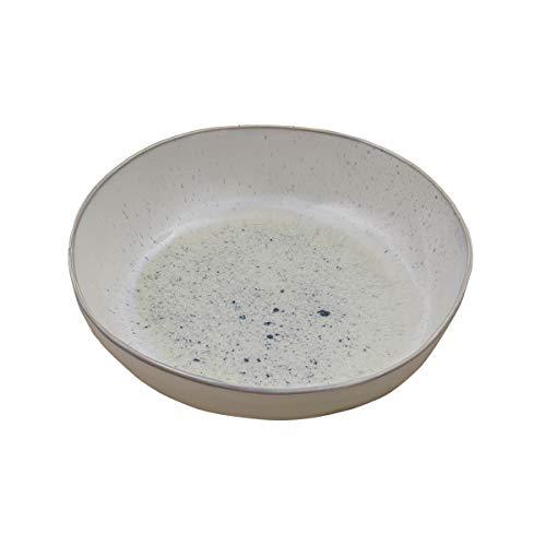 Split P Blue Speckled Serving Bowl
