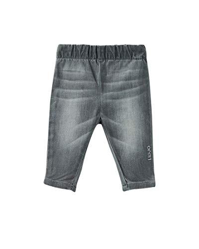 Liujo Honey Baby Elastische Jeans für Mädchen, Grau (80 cm)12 Monate