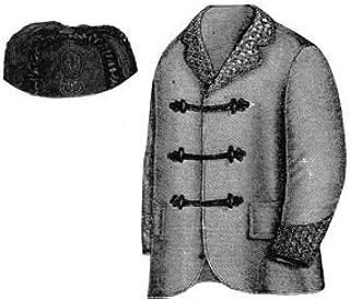 1868 Smoking Jacket & Cap Pattern