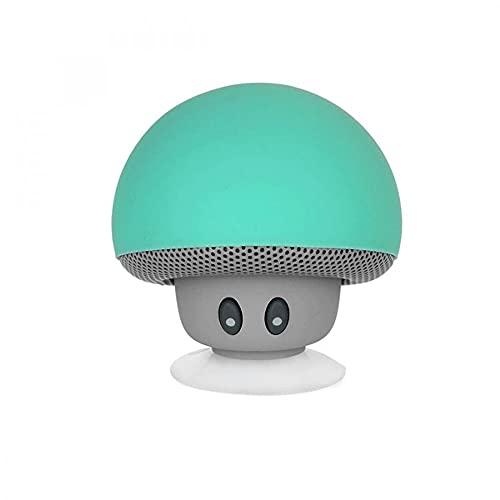 Mob Bluetooth-Lautsprecher, wasserfest, Pilz, Saugnapf, Grün